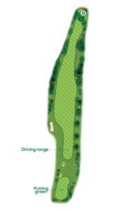 Buca n.9 Percorso 9 buche Golf Club I Salici